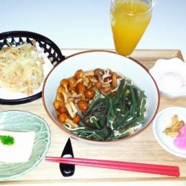 【春の山菜うどん(そば)御膳】
